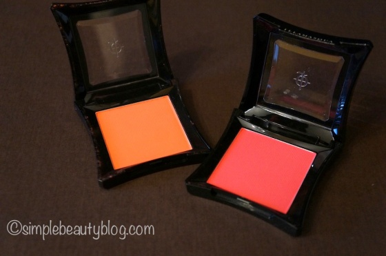 Illamasqua Blushes in Excite & Tweak