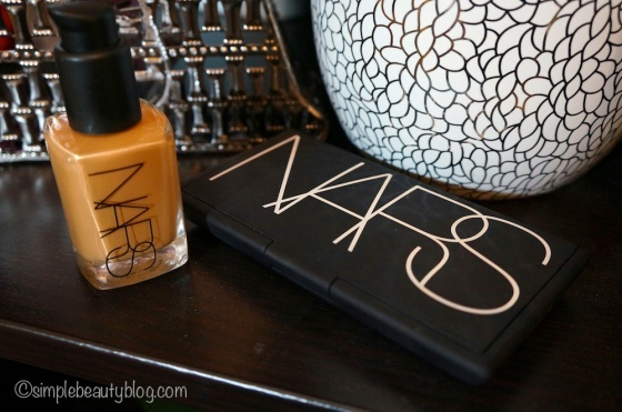 L-R: Nars Sheer Glow in Cadiz, Nars Cream Compact in Tahoe