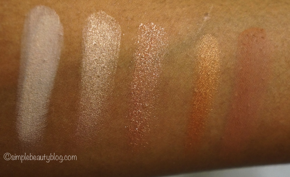 MAC Eyeshadow X15: Warm Neutral Swatches – Simple Beauty Blog