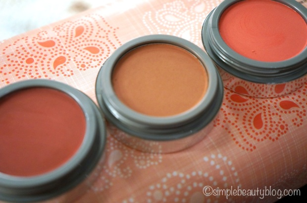 L-R: Terracotta Treasure, Terra Cotta, Apple Cheeks