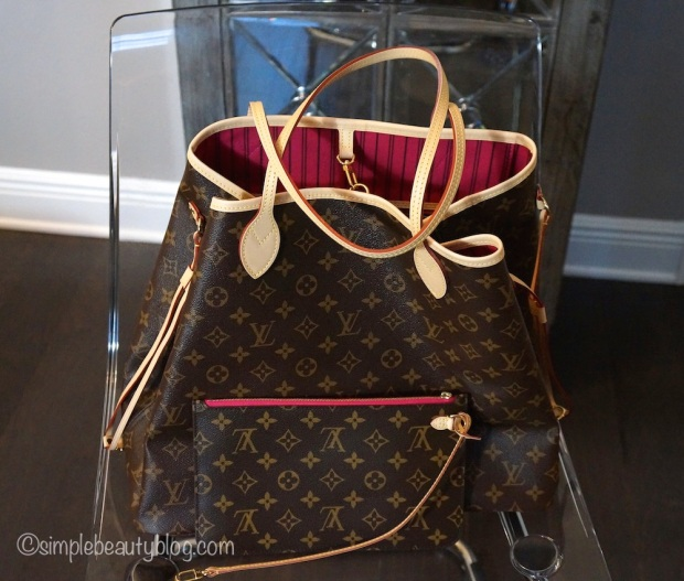 Louis Vuitton Neverfull GM Monogram (Interior color is Pivoine)